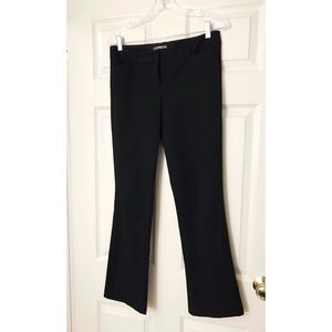 Express Columnist Black Dress Pants 4 Short